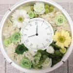 素敵時間を刻む!結婚記念日ご両親へのプレゼントに花時計を手作りで
