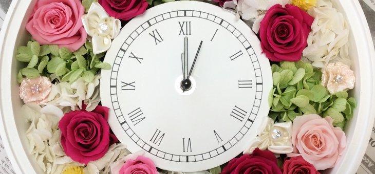 還暦祝いのプレゼントをお母さんに!お花いっぱい手作りのプリザーブドフラワー アレンジメント