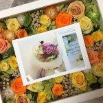 最高の瞬間をお花で飾る!プリザーブドフラワーのフォトフレームを手作りのお祝いに!