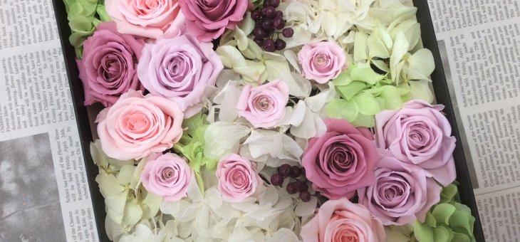 まるで桜が咲いたアレンジメントのよう!可愛い作品ご紹介