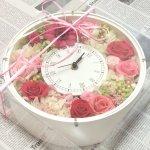 花好きな人への誕生日プレゼントに手作りのおしゃれなプリザーブドフラワー
