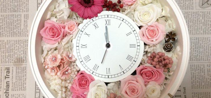 結婚式のご両親へのプレゼントに時計を手作りで!生徒さんの作品をまとめてご紹介!