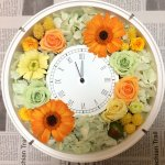 驚いた顔が可愛かった!入籍の記念のプレゼントに手作りのお花