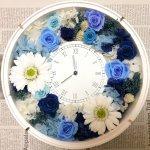 2人だけの時を刻む!バレンタインにおしゃれな手作り花時計