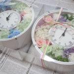 結婚式のご両親贈呈品に手作りの時計 参考になる生徒さんの作品をご紹介