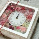 結婚のプレゼントを友人に!あっと驚くおしゃれで人気の手作り花時計