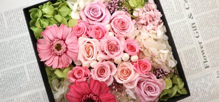 箱の花が可愛い!ピンクのフラワーボックス を作られました