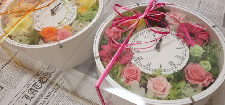 八芳園の和婚で!結婚式のご両親へのプレゼントに時計を作られました