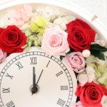 二次会でのサプライズプレゼント!新婦様へ可愛い時計を作られました