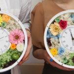 結婚式の両親贈呈品に時計をオリジナルに作られました!