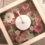 ご友人と一緒に花作り!可愛い花時計ができました
