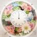 ハワイの結婚祝いのプレゼントに手作りの可愛い花時計を作られました